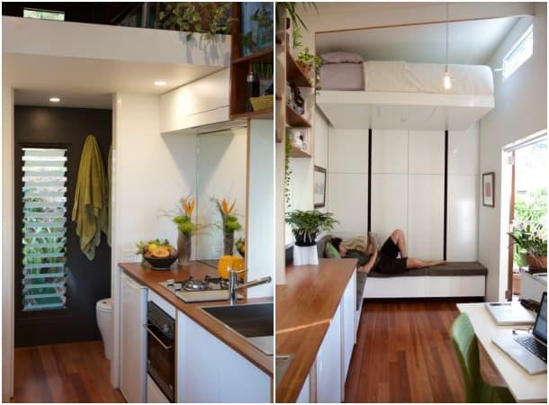 interior pequeña Casa Portal