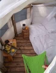 interior refugio-árbol bubbletree