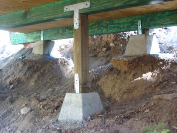 detalle cimentación casa en ladera