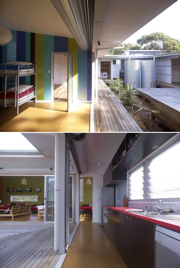 dormitorio cocina Kurreki House