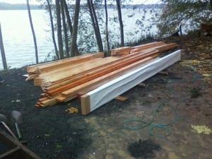 algunos elementos kit de madera de Pennypinche