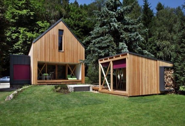 Casa de vacaciones, de Prodesi y Domesi